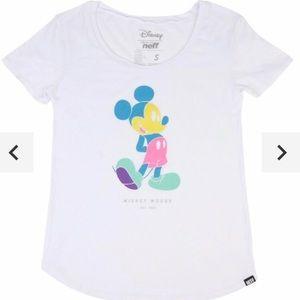 NWOT Neff Pastel Mickey Mouse T-Shirt